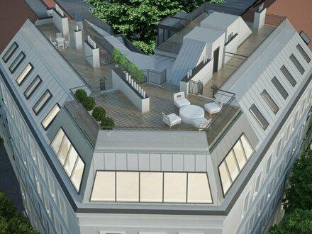 Charmante Eck-Wohnung mit traumhafter Dachterrasse