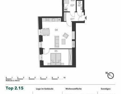 +++ IHR NÄCHSTES ZUHAUSE? +++ Gut geschnittene 2 Zimmer Eigentumswohnung in bester Infrastruktur
