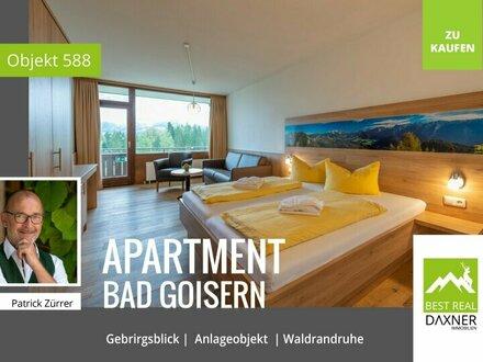 Anleger- Ferienwohnung in Waldrandruhelage von Bad Goisern am Hallstättersee!