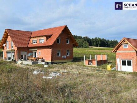 ITH IHR TRAUMHAUS! LANDHAUS zum FERTIGSTELLEN! 240 m2 WFL, 50ig ZIEGELMASSIV, 3.200 m² Grundfläche in ALLEINLAGE.