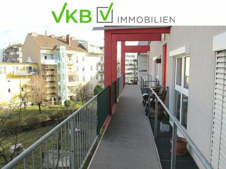 Neuwertige Innenstadtwohnung mit Terrasse und Tiefgaragenplatz