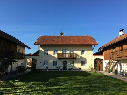 Bauernsacherl mit Nebengebäuden nahe Franking