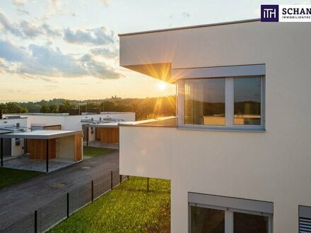 ITH - PROVISIONSFREI: ideal für FAMILIEN! Neubau-Reihenhaus mit kleinem Eigengärtchen mitten im Grünen!