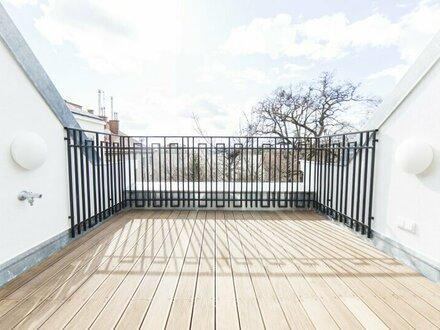 Erstbezug nach Generalsanierung! 3-Zimmer DG-Wohnung mit Terrasse zu vermieten!