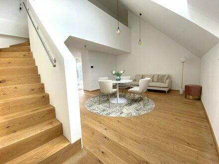 Moderne 2 Zimmer Dachgeschoss Wohnung | Erstbezug am Brunnenmarkt