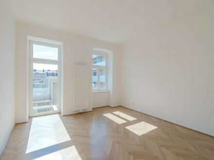 **NEU** ERSTBEZUG, Kernsanierter Altbau, 1-Zimmer + 5m² Balkon, Ruhelage, südseitig!