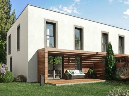 Wien Leopoldau, wunderschöne und moderne Doppelhäuser, in Nähe zur Natur, gute Infrastruktur