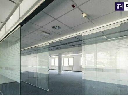 **#ITH#ATTRAKTIVES OFFICE MIT BESTER INFRASTRUKTUR! + topmoderne Ausstattung + belebte Umgebung