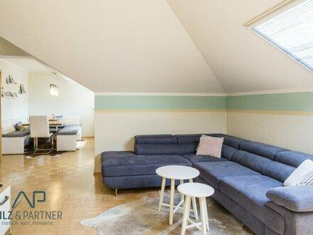 4 Zimmerwohnung mit Balkon - ein Traum unterm Dach!