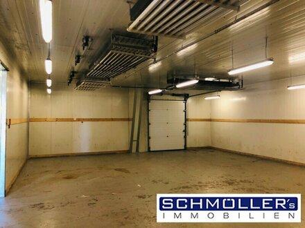 Kühlhaus mit beheizbarer Lagerfläche und Büroräumlichkeiten in TOP LAGE!