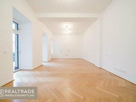 NEW PRESTIGE -Top aufgeteilte, sonnige Terrassenwohnung am unteren Belvedere (Erstbezug)