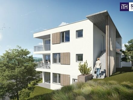JETZT ZUGREIFEN: Kleinwohnung, ideal aufgeteilt mit 2 Zimmer + Terrasse + Grandiosen Ausblick + Photovoltaik inkl. in 8075…