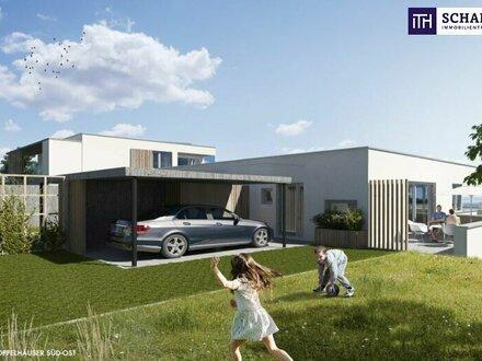 ITH: NATUR PUR! Doppelhaushälfte in 8075 Hart bei Graz + heimeliger Eigengarten + perfekte Raumaufteilung + attraktive Ausstattung…