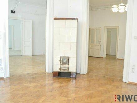 182m² Büro/Ordination in einem repräsentativen Stilaltbau nahe der Mariahilferstraße! Sanierung in Absprache mit Mieter möglich!