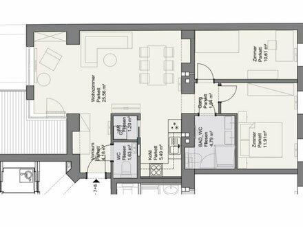 ++NEU++ Generalsanierter 3-Zimmer Altbau-ERSTBEZUG mit ca. 8m² Balkon! optimaler Grundriss!