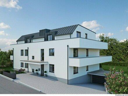 Provisionsfrei: Hochwertige 3-Zimmer-Neubau-Wohnung mit 58m² Balkon in Premiumlage Aigen