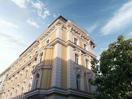 EUM - THE FLATIRON VIENNA! Hochwertiger 2-Zimmer-Erstbezug im Herzen Mariahilfs