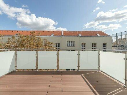 ++NEU** Hochwertige 4-Zimmer DG-Maisonette, tolle Raumaufteilung, mit Balkon und 2 Terrassen!