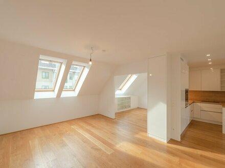 ++NEU++ Außergewöhnliche 5-Zimmer DG-Wohnung mit 2 Terrassen u. Einbaumöbeln!