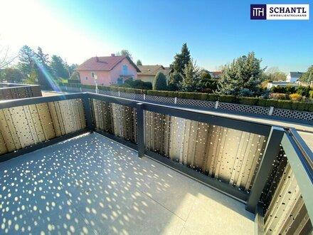 Schnell zugreifen - nur noch 2 Wohnungen verfügbar: Gemütlicher Sonnenbalkon + 3-Zimmer + perfekte Raumaufteilung + Erstbezug!
