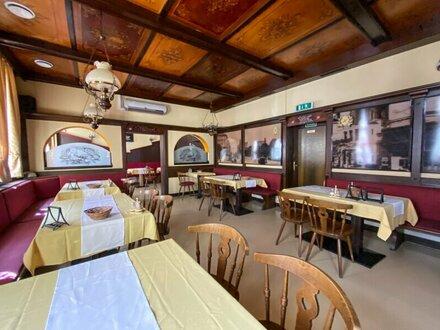 Gastronomiebetrieb mit Gastgarten unbefristet zu vermieten!