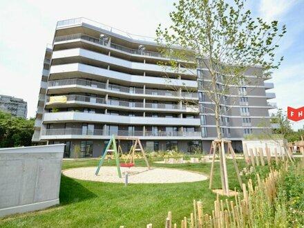 Moderner 2 Zimmer Neubauerstbezug mit 26m² Terrasse u. Tiefgarage Nähe U3