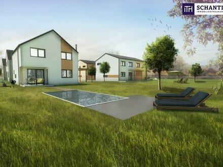 Gelegenheit: Einfamilienhaus + perfekte Raumaufteilung + riesiger Garten + Grünruhelage!