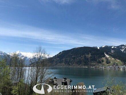 Zell am See / Thumersbach: einzigartiges Baugrundstück ca. 1071m² oberhalb dem Zeller See, sensationeller Ausblick