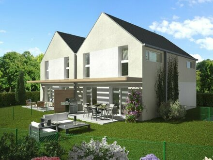 Moderne, günstige Doppelhaushälfte mit schönem Blick in herrlicher Ruhelage im Zentrum von Traiskirchen