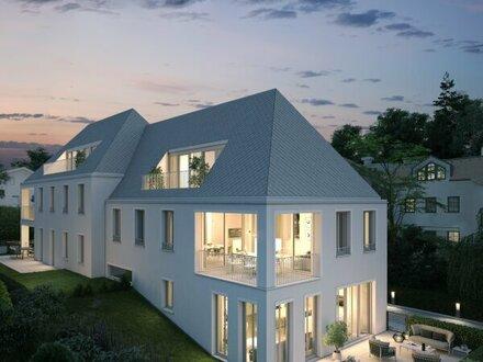 Neubauprojekt am Glanbach: Penthouse mit Traumblick