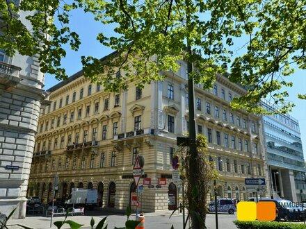 Im Herzen von Wien. Am Puls der Stadt.