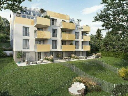 Projekt BeLeaf - ideale 2-Zimmer Wohnung mit riesigem Eigengarten und Garagenoption (Top 2)