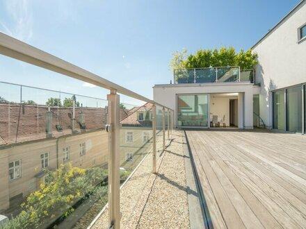 ++PROVISIONSFREI** RARITÄT in BESTLAGE: Nussdorf, außergewöhnliches LUXUS-Penthouse, 58m² Terrasse, hochwertigste Ausstattung!…