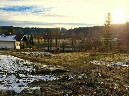 Nur noch zwei günstige Grundstücke in unverbaubarer Südlage frei