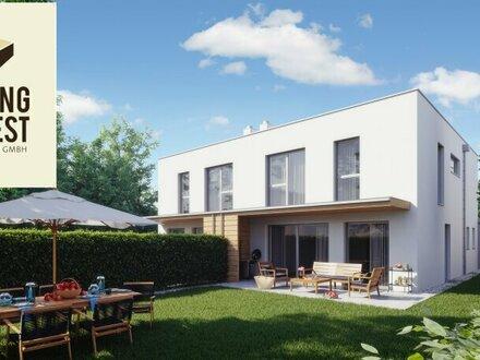 Enns Living! Architekten Doppelhäuser am Stadtrand von Enns! Haus 1