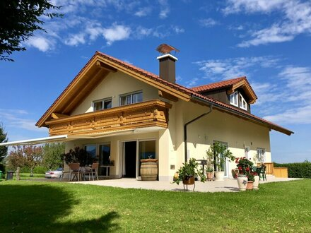Landhausvilla an der Grünzone – Salzburg-Loig