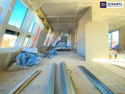 Dachterrassen-Traum: Penthouse + 5-Zimmer-Wohnung + 130 m² Terrassenflächen + Traumhafter Blick + perfekte Infrastruktu…