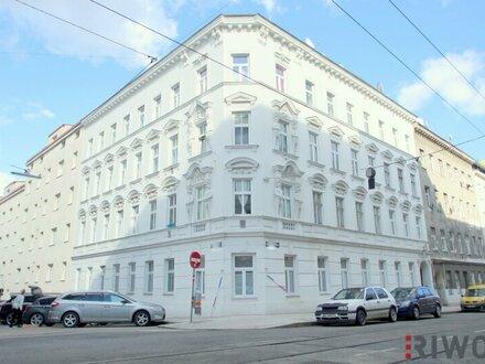 ++ TOP-GARCONNIERE ++ Gepflegte, geräumige 1-Zimmer Altbauwohnung mit West-Ausrichtung zum fairen Preis