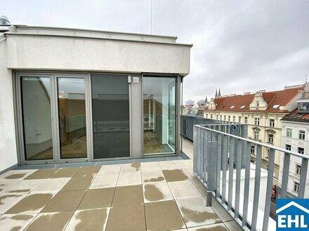 1. Monat MIETZINSFREI (Nettomiete) bei einer Anmietung bis Ende Jahres! - Wunderschöne Dachgeschosswohnung mit Blick über…