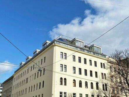 | Ein Ausblick, der begeistert! | Perfekte 3-Zimmer WG-Wohnung in Fußnähe zur WU | Innenhofbalkon | Dachgeschoss | inkl.…
