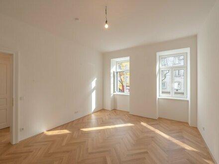 ++Projekt TG 17++ Optimal geschnittener 3-Zimmer ALTBAU-ERSTBEZUG mit 7m² Balkon, umfassend saniertes PROJEKT!