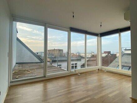 Wunderschöne, helle 5- Zimmer DG-Wohnung mit schöner Terrasse in 1040 Wien zu vermieten!