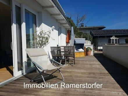 Terrassen-Wunder in Anif