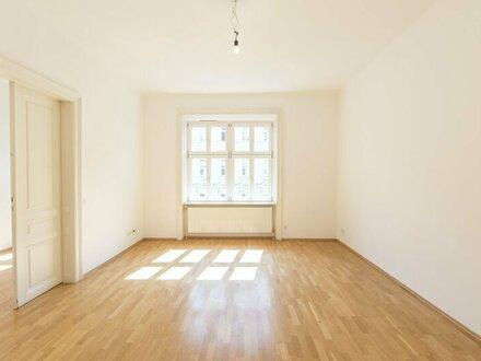 Schöne 2-Zimmer Altbauwohnung in zentraler Lage - unbefristet zu vermieten!