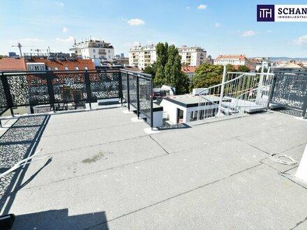 Blick über Wien + Riesenterrasse + High Quality + Rundum saniertes Altbauhaus! Ab ins stylische Dachgeschoss mit WOW-Effekt!