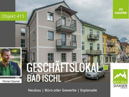 NEUBAU: Repräsentative Büro/Geschäftsfläche an Bad Ischler Esplanade!!
