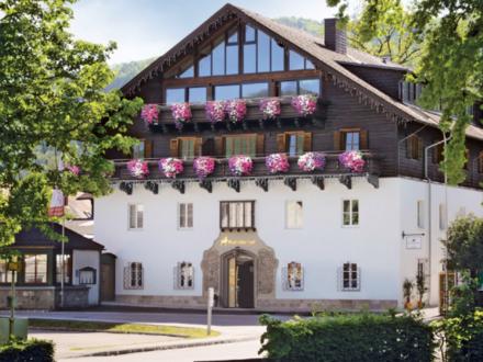 57 m² Mietwohnung mit ca. 60 m² Terrasse im Zentrum von Altmünster mit Blick in die Natur