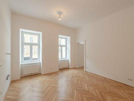 ++NEU++ 2 Zimmer- Altbau-ERSTBEZUG an der Donau, perfekte Raumaufteilung!