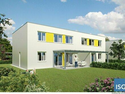 Neuhofen im Innkreis: NEUBAU; Doppelhaus-Wohnprojekt Eigentum oder Mietkauf in Unterlangstraß