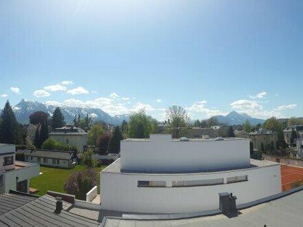 Trendige Dachgeschoss-Wohnung mit Terrasse in Ruhelage Maxglan!